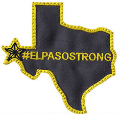 custom el paso strong patch