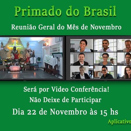 Reunião on-line federados