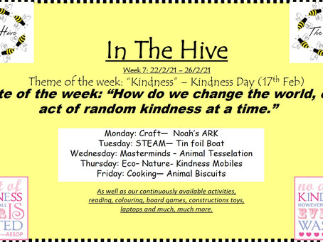 This week in The Hive - 22nd February