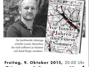 Lesung mit Jürgen-Thomas Ernst