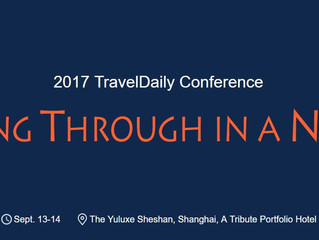 Meet us at the 2017 TravelDaily Conference in Shanghai next week