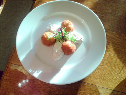 Tomato Arancini by Duncan