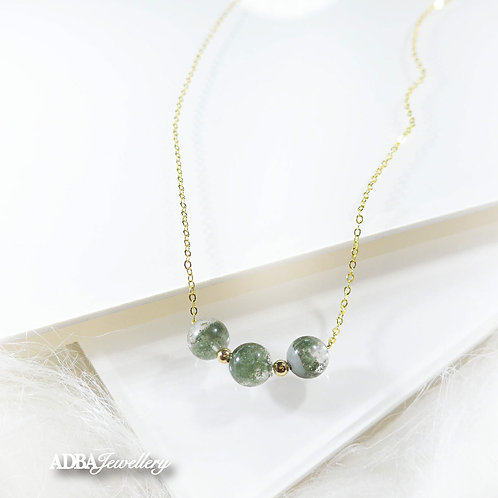 綠幽靈 Green Phantom Vintage Necklace