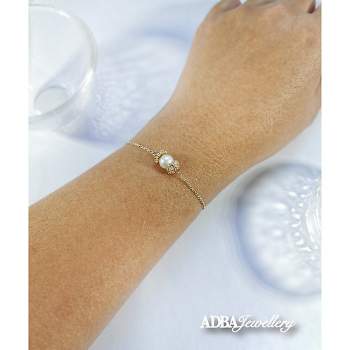 Dream Breath Fresh Water Pear Bracelet