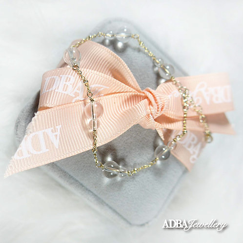 Luck & Wealth Clear Quartz Bracelet 葫蘆白水晶手鏈