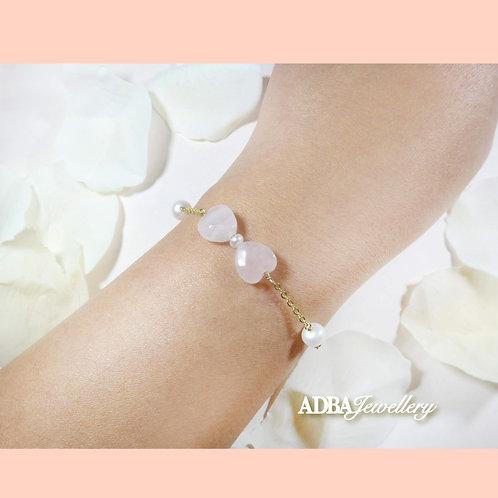 Ribbon Love Bracelet