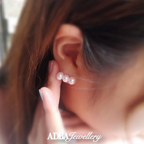 淡水珍珠平衡木耳環 Signature Balance Beam Ear Studs/ Earrings