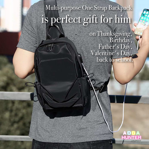 Multi-Purpose One Strap Backpack