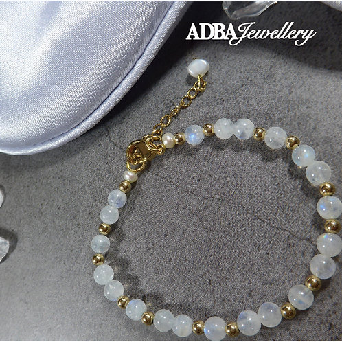 水元素月亮石手鏈 3A grade Moonstone Bracelet