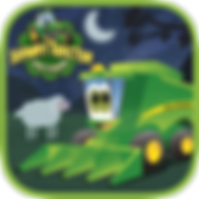 App icon for Johnny Tractor and Friends: Goodnight, Johnny Tractor interactive storybook from Soul and Vibe Books!