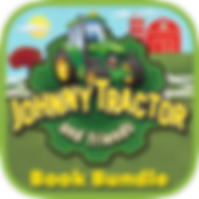 App icon for Johnny Tractor and Friends: Book Bundle interactive storybook from Soul and Vibe Books!
