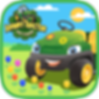 App icon for Johnny Tractor and Friends: Growing Season interactive storybook from Soul and Vibe Books!