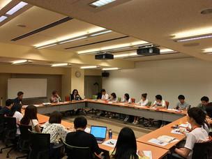 《実施報告・Keio SFC-TOMODACHI Entrepreneurship Seminar パネルディスカッション参画》