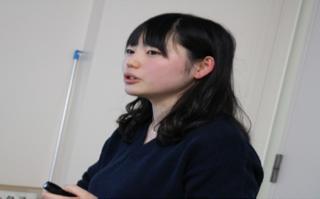 学生団体GEIL 代表 荒川さん(2018年度)
