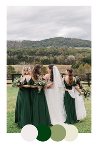 green-winter-wedding-dresses-colour-palette