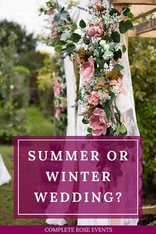 Summer or Winter Wedding?