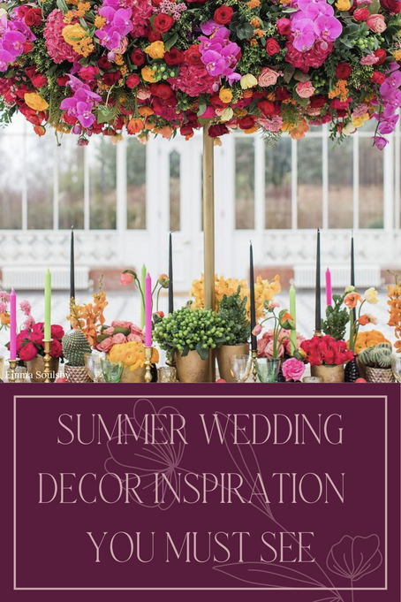 Summer Wedding Décor Inspiration You Must See