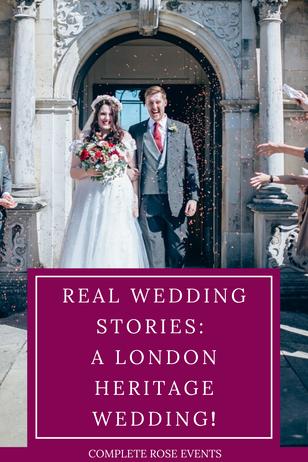 Real Wedding Stories: A London Heritage Wedding