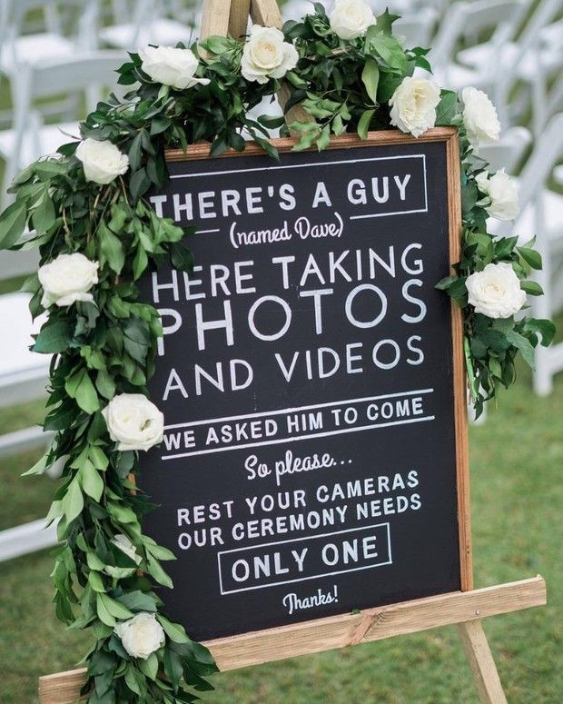 wedding-ceremony-unplugged-signage