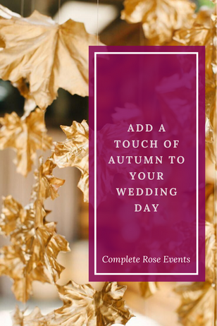 Add a touch of Autumn to your day...