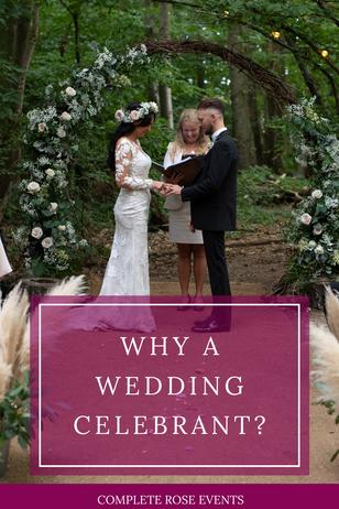 Why a Wedding Celebrant?
