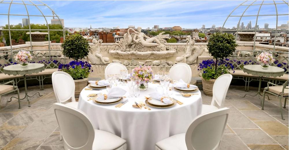 The Dorchester Rooftop Wedding Venue