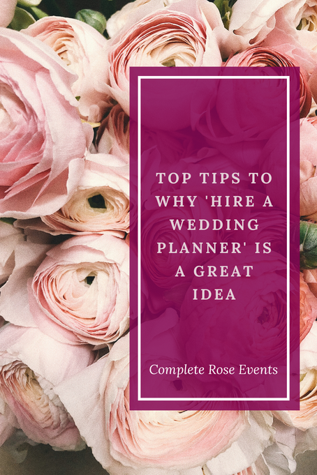 How 'hire a wedding planner' will be the best 'to do' you've ever written in your diary