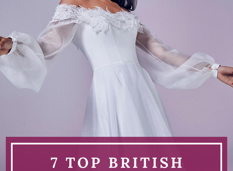 7 Top British Luxury Wedding Dress Designers