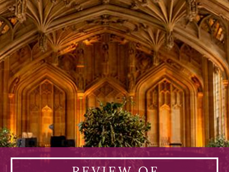 Review of Oxfordshire's Iconic Wedding Venue: Bodleian Libraries
