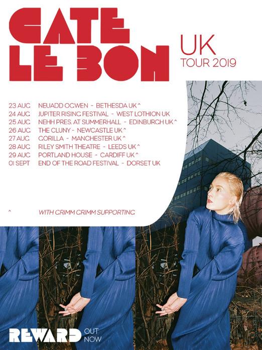 Cate Le Bon UK Support Tour