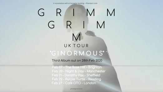 UK Tour February 2020