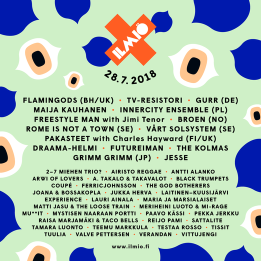 ILMIÖ FESTIVAL in Finland