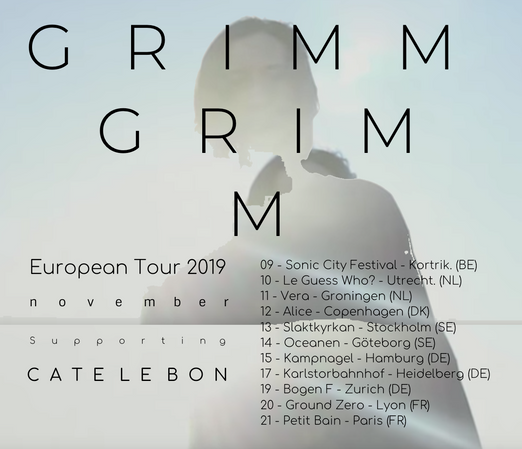EUROPEAN TOUR 2019 with CATE LE BON
