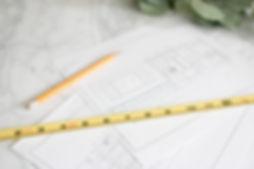 Blueprint_kitchen_Layout_tape_Measure-2.
