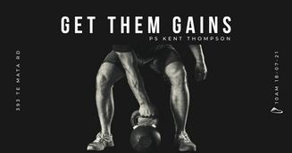Get Them Gains - Ps Kent Thompson