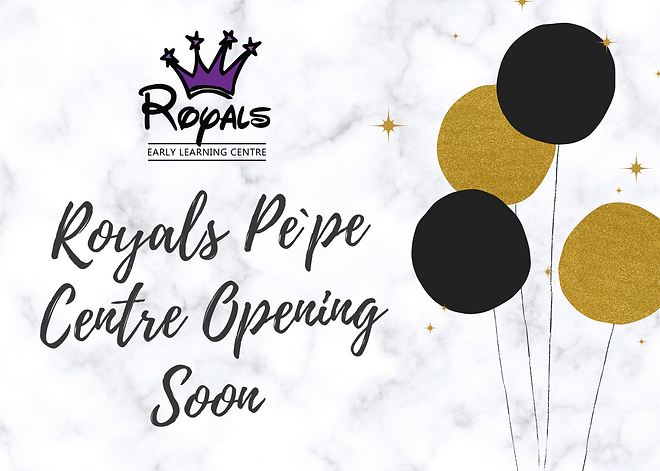 Royals Pe`pe centre opening soon.png