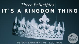It's a kingdom thing Ps Sari