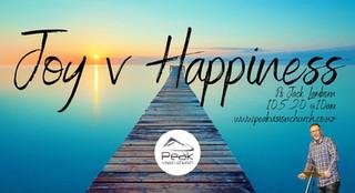 Joy V Happiness