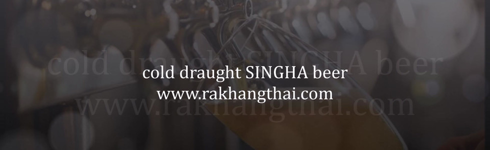 Rakhang Thai Singha Draught Beer Promotion