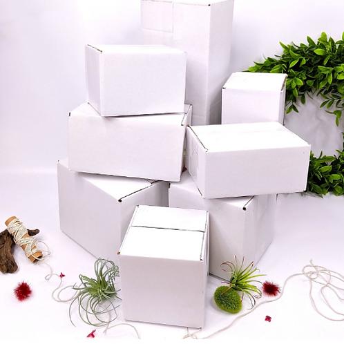 5 ct White boxes 12x6x4 Mailing Box