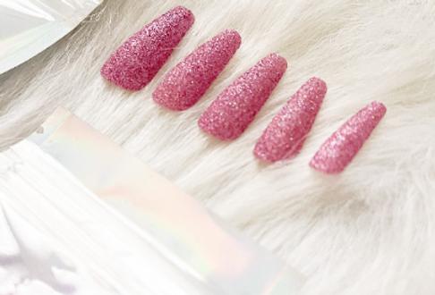Pink Glitter Press'd