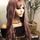 """Thumbnail: Lavender 20"""" wig with bangs synthetic hair"""