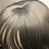 Thumbnail: Synthetic Dark Gray Bodywave Wig With Bangs 99j/530