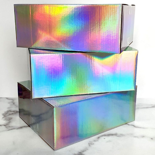 25 CT: 10x8x4 Holographic Boxes