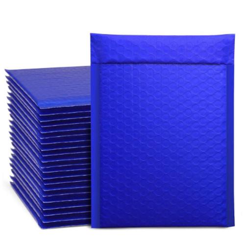 6.5x10 royal blue bubble mailer 10ct