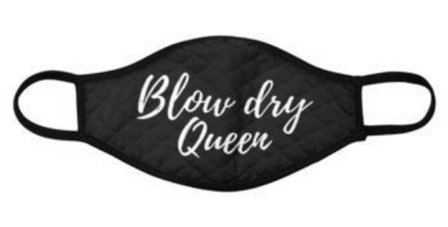 Blow Dry Queen: Face mask for hair stylist