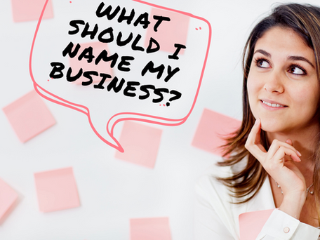 4 Tips For Naming Your Business