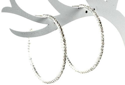 Glow Hoop Mini - silver