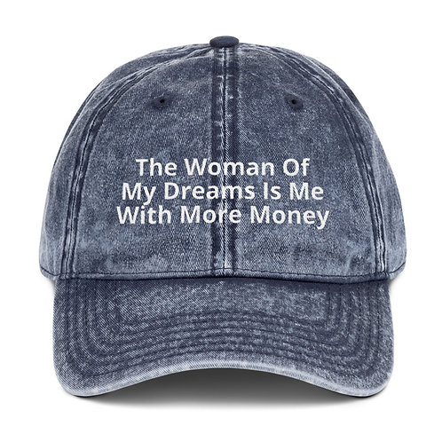 The woman of my dreams hat