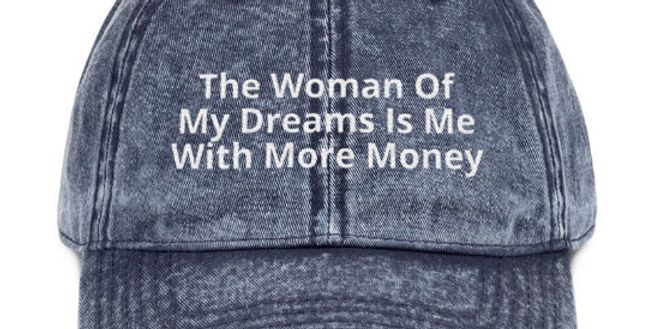 woman of my dreams hat